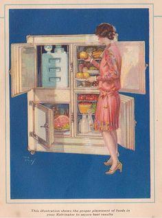 Kelvinator Refrigerator ad