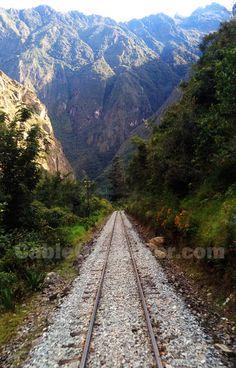 Machu Picchu railroad