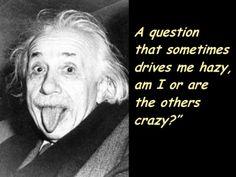 Einstein's response to the media