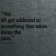 If you're gonna get addicted   Make it something that's good for ya!!
