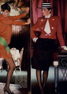 style 1980s, 1980s model