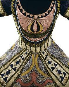 Ballet Russes costume designed by Leon Bakst, c. 1912