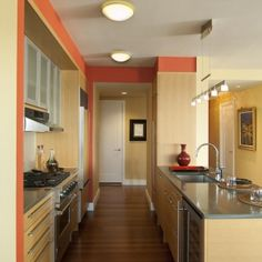 Changing the paint color of your walls will instantly change the feel and look of your whole kitchen (Cultivate.com)