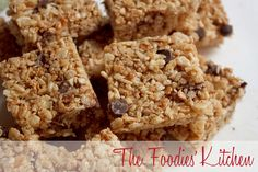 Chocolate & Granola Squares by The Foodies' Kitchen, via Flickr