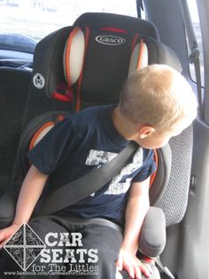 To be safe in a booster, kids need to have the maturity to sit correctly without leaning around, unbuckling, or slouching. If their seat belt doesn't fit right, it can't protect them! Most kids are 5-6 before they are ready.  www.csftl.org