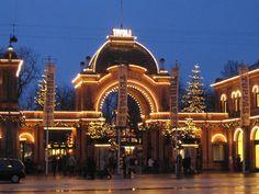 More Tivoli. Copenhagen.