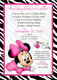 Tutu Invitations For Baby Shower as perfect invitations example
