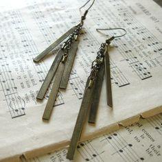 $20 brass earrings