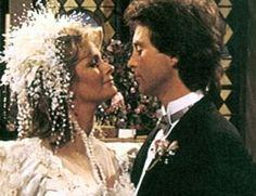 John and Marlena at one of their many weddings!  [Deidre Hall and Drake Hogestyn]