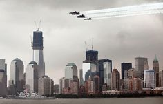 One of the sights during Fleet Week New York (U.S. Marine Corps photo by Lance Cpl. Martin Egnash)
