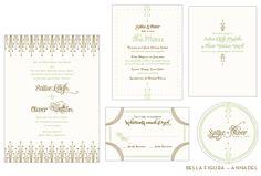 annadel wedding invitation by hello tenfold for bella figura