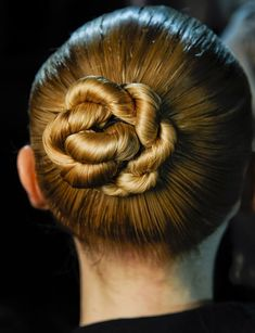Hairstyle ideas for summer - Sleek Twisty Central Chignon