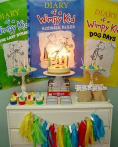 Diary of a Wimpy Kid Party #diarywimpykid #party