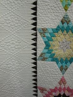 Star quilt...incredible quilting!