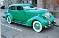 1936 Packard Touring Sedan.