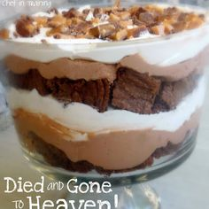 DIED AND GONE TO HEAVEN TRIFLE a.k.a. Chocolate Trifle