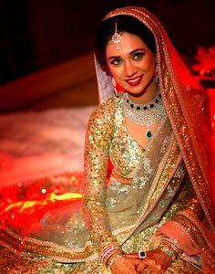Arjita for Band Baajaa Bride The Makeover Show bridal, desi, sleev, indian wear, dress, brides, indian fashion, dream wedding, south asian