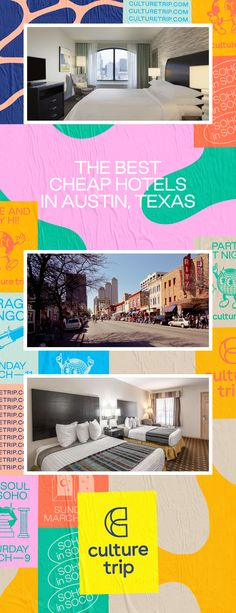 Considering Texas's low cost of living when compared to the country's other major metropolitan areas, traveling on a budget in Austin is easy. Although prices vary throughout the city, even Downtown Austin has relatively cheap options for your stay.