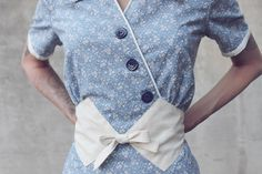 Craftsy.com - Tips for planning your next #vintage #sewing project. vintag dress, sewing projects, sew project, vintage sewing, dresses, sew vintag, belt, vintag sew, sew inspir