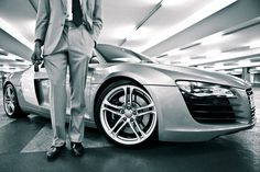 #Audi #R8 Fifty Shades of Grey...