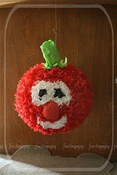Feasting on Joy: A Veggie Tales Birthday Party