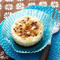 Ginger Pineapple Mini Cheesecakes