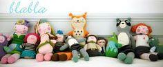 Blabla Dolls - http://www.westcoastkids.ca/NEW/NEW-/Blabla---Knit-Dolls