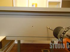Easy Way to Install Drawer Fronts