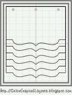 Cricut Inspired Scrapbook Layouts: Flip Album Cut Files