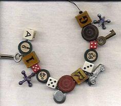 game pieces, fun game, piec bracelet