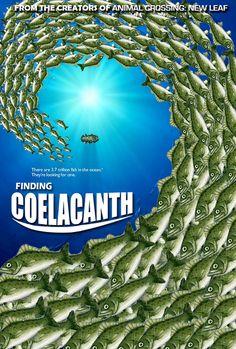 Animal Crossing: Finding Coelacanth @Hayley Sheldon!