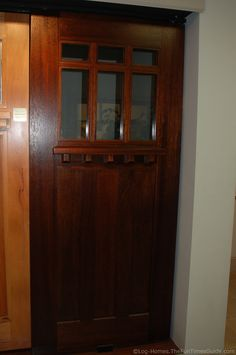 The Exterior Doors We Chose For Our Log Home #door