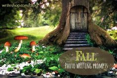 Fall Writing Prompts: 3 photo prompts to stir your kids' imagination!