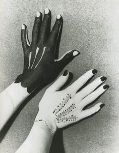 Hands Painted by Picasso. Man Ray, 1935.