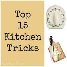 Home Made Modern: Top 15 Timesaving Kitchen Tricks