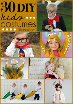 30+ DIY Kids Costumes perfect for Halloween! { lilluna.com } #halloween