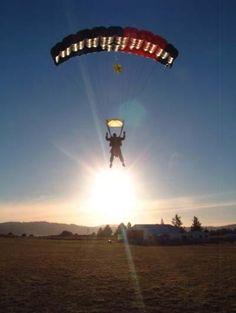 Skydiving...