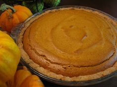 SCD Pumpkin Pie (*Use fresh pumpkin puree & substitute additional honey for maple syrup...)
