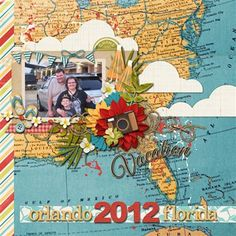 orlando cover page - Club CK - The Online Community and Scrapbook Club from Creating Keepsakes