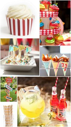 How to Host a Carnival Themed Birthday Party food display, themed birthday parties, carniv parti, theme birthday, carniv bday, parti idea, carnival food, birthday ideas, carniv theme