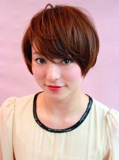 short hair, color, short straight, japanes bob, hairstyl, bob asian, bob haircuts