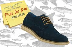 For the stylish dad: A classic cool style combines with added comfort in the Mark Nason SKECHERS Embolden shoe. SKECHERS.com