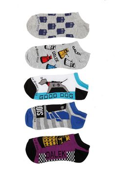 Doctor Who sock set - I see a bridal party gift!