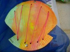 weaving sea shells