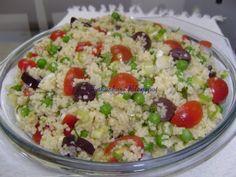 Salada de Couscous Marroquino de Zakuskas - Petit Chef