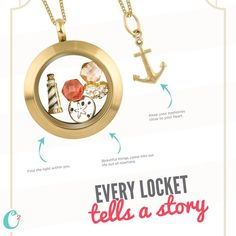 Origami Owl makes it easier than ever to tell your story with jewelry.  Click on the pic to see all we have to offer!