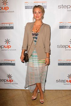 Molly Sims, Kaley Cuoco spotted at Inspiration Awards Luncheon