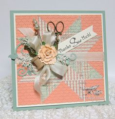 Stamps - Our Daily Bread Designs Quilts, ODBD Custom Fancy Foliage Die, ODBD Soulful Stitches Paper Collection