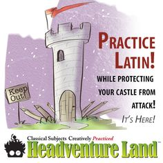 The new full zone of Latin for Children A has launched … this looks oh so awesome.