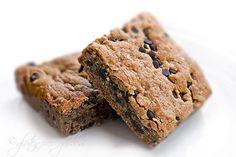 Karina's gluten-free quinoa breakfast bars (with mini dark chocolate chips) ...